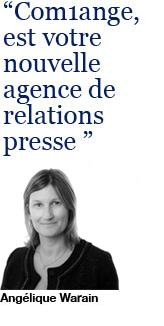 Angélique Warain, Directrice de Com1ange